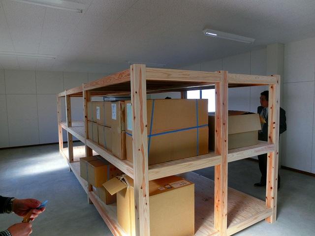 湯前町防災備蓄倉庫