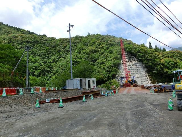 小春工区の第1トンネル