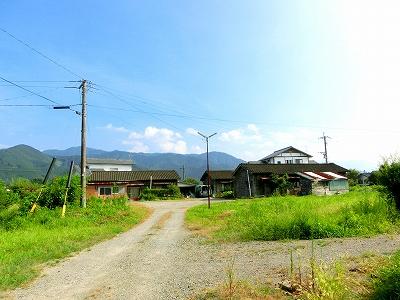 湯前町の住宅建設予定地