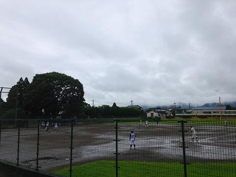 球磨郡民体育祭2015 湯前町野球チーム