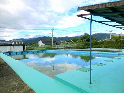 湯前小学校のプール改修